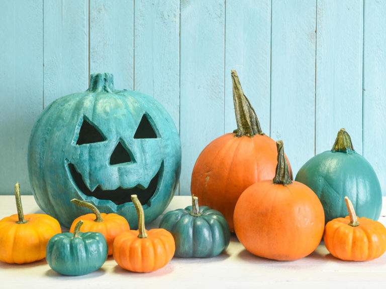The Official Guide to Understanding Colored Halloween Pumpkins
