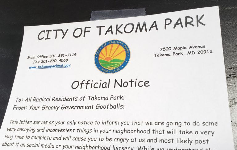 City Aims to Reduce Tension By Posting Official Notices in Comic Sans Font