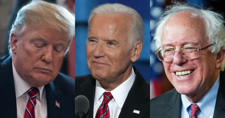 Nation Rejects Old White Male Establishment by Choosing Older White Males