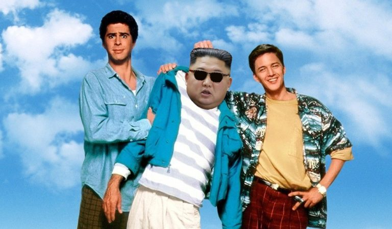 North Korea Insists Kim Jong-un Still Alive, Just Enjoying Weekend at Beach House with Two Best Friends