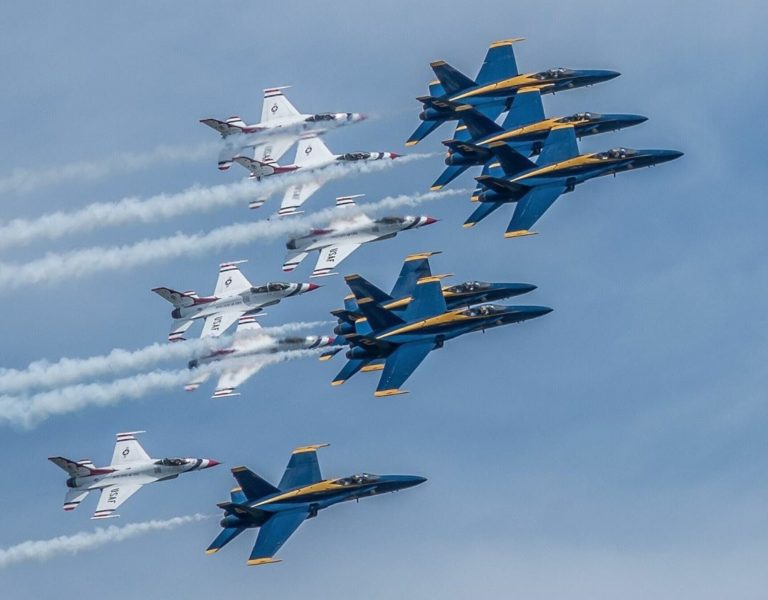 Americans Required to Return Stimulus Checks to Cover Cost of Blue Angels Flyover