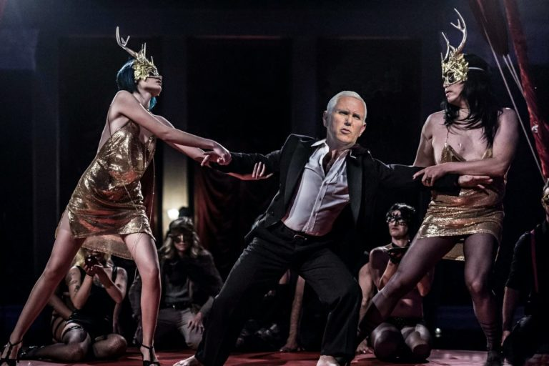 Mike Pence Kicked Out of 'Eyes Wide Shut' Orgy for Not Wearing Mask